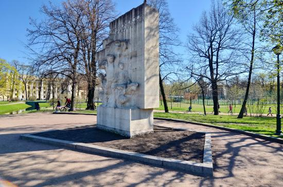 Monument to the Young Heroes, the Defenders of Leningrad