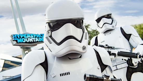Orange County, CA: Storm Troopers at Disneyland California