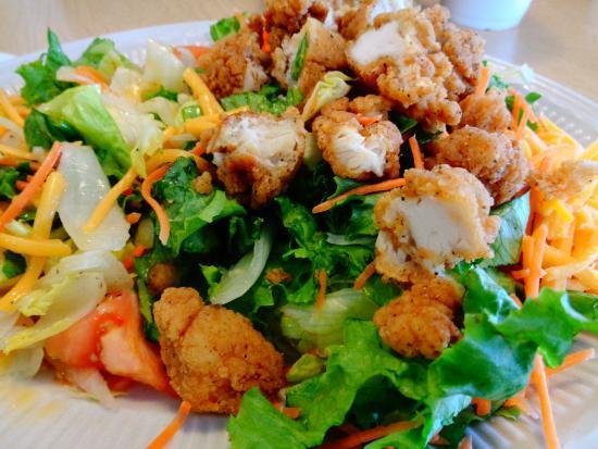 McClellanville, SC: Fried Chicken Salad