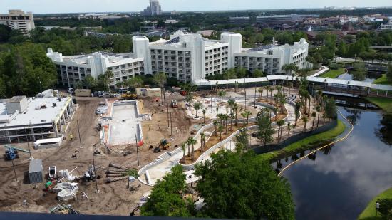 Hilton Orlando Buena Vista Palace Disney Springs Ongoing Renovations