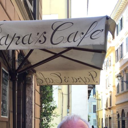 Papa's Cafe: Such friendly people. Loved Sophia!!