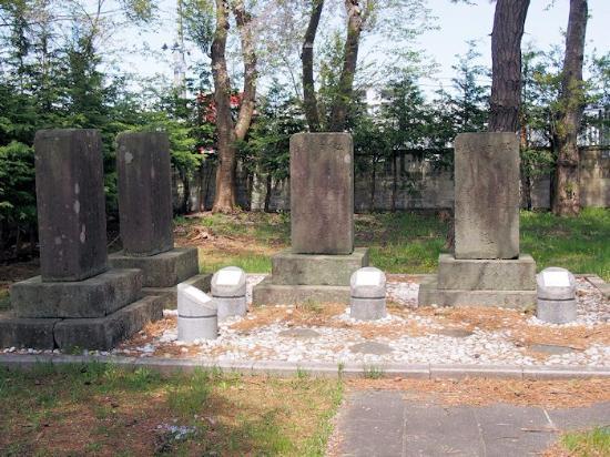 Noheji-machi, Japan: 野辺地戦争戦死者の墓所