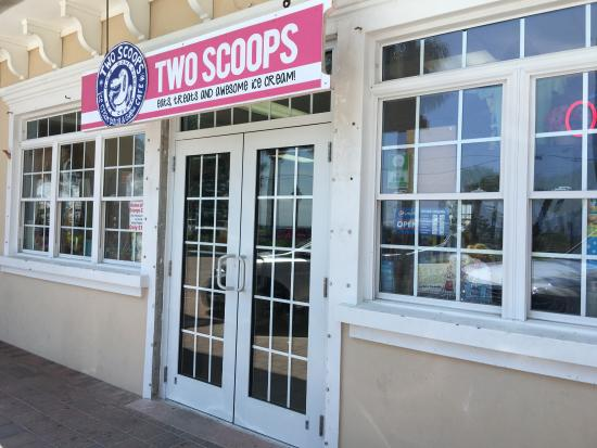 Two Scoops: Fab little retro place and the best ice cream!