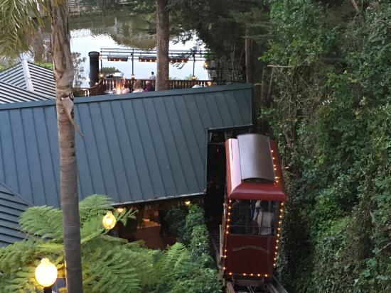 Shadowbrook Funicular Ride To Dinner