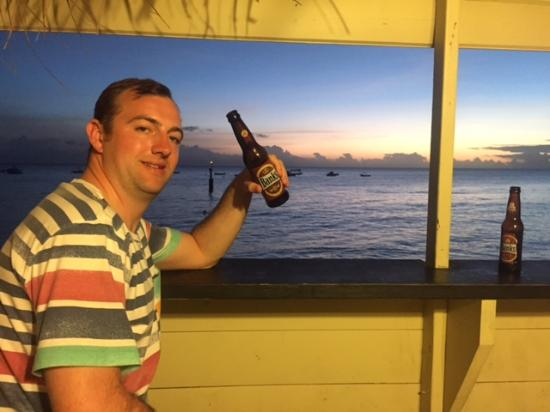 Lower Carlton, Barbados: Adam in the John Moore bar