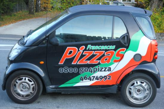 Francesca's Pizzas : We deliver all round Wanaka