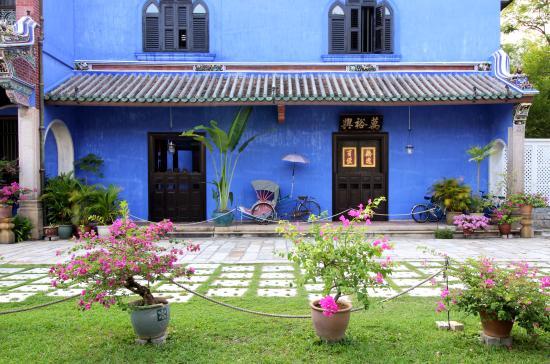 Cheong Fatt Tze - The Blue Mansion : Exterior View - Side