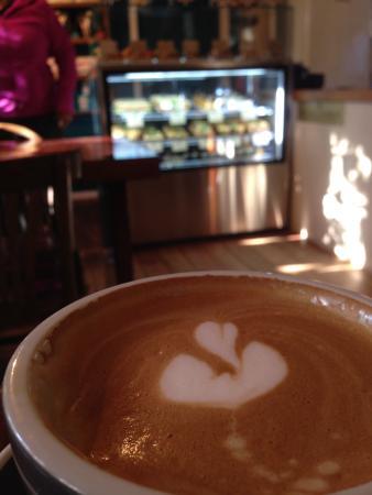 Turangi, Nueva Zelanda: There is nothing like a good New Zealand flat white coffee.