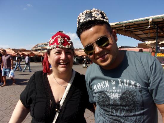 Sunny Morocco Trips: Djema el Fnaa Square, Marrakesh