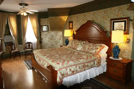 Wilson House Bed and Breakfast : Master Bedroom