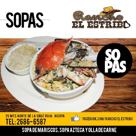 Nicoya, Costa Rica: Sopa Mariscos