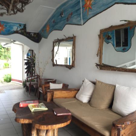 Anse Soleil Beachcomber: ingresso dell'Hotel