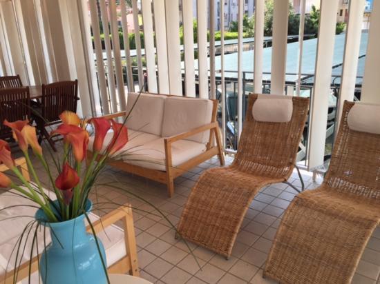 Manila Hotel : l'angolo relax