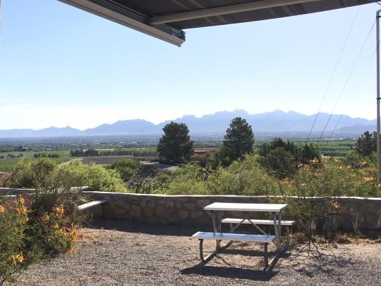 Las Cruces KOA: View from my site.