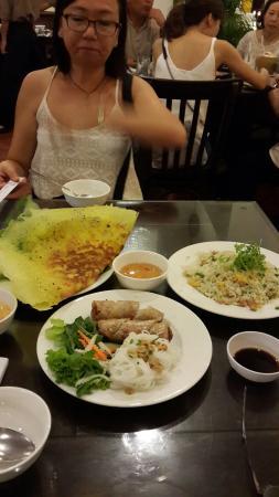 Street Food in a restaurant.