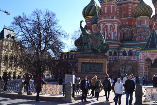 Minin & Pozharsky Monument: Pomnik poświęcony Kuźmie Mininowi i Dymitrowi Michajłowiczowi Pożarskiemu,