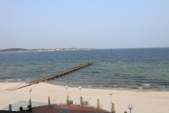 Hotel Seelust: Blick aus dem Zimmer auf die Ostsee - was will man mehr?