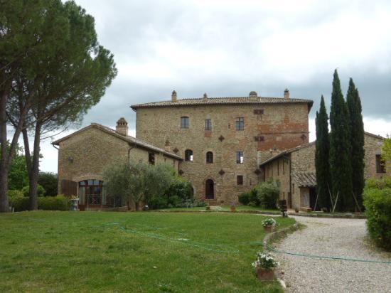 Castiglione della Valle, Italië: Haupthaus vom Castello