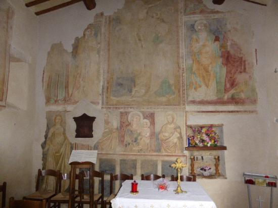 Castiglione della Valle, Italië: Kapelle vom Castello