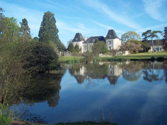 Tracy-Bocage, France: View of the Manor
