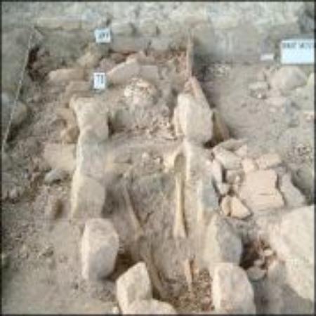Soyons, France : Tombe gallo-romaine au site de la Brégoule