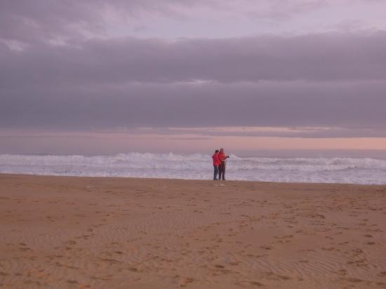 Buffalo Bay: between sand and waves