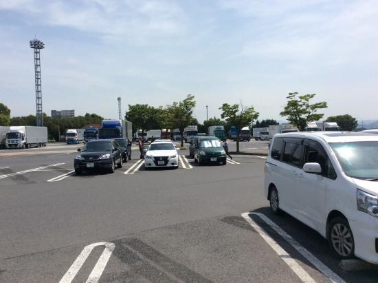 駐車場風景