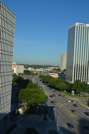 Aloft Houston by the Galleria: UItzicht 9e verdieping