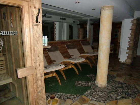 Naturhotel Thalerhof: Wellnessbereich/Sauna