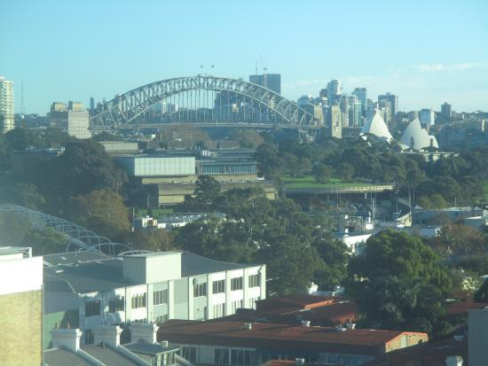 Hotel ibis budget Sydney East: Our room view - 5th floor