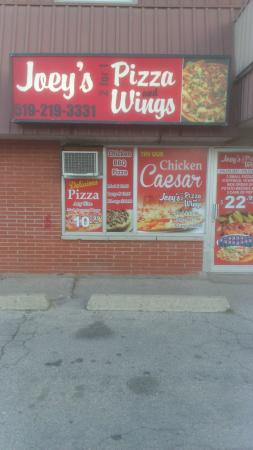 Joey's 2 for 1 Pizza and Wings