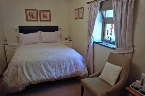 The Church Inn: double bedroom