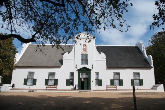A lovely afternoon at Groot Constantia