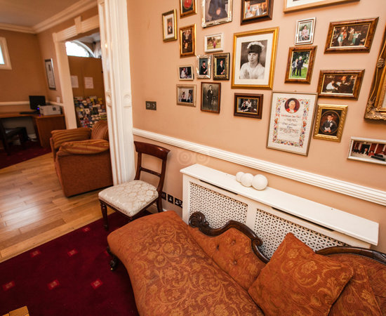 Residents Lounge at the Uppercross House Hotel