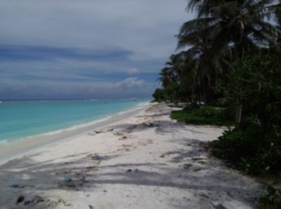 Atolón Kaafu: Pemandangan Tepi Pantai Hulhumale