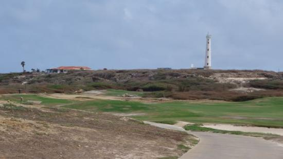Tierra del Sol Golf Course: view of light house