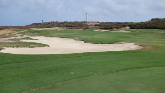 Tierra del Sol Golf Course: View of lighthouse