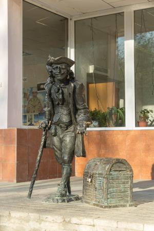 Monument to the Pirate John Silver