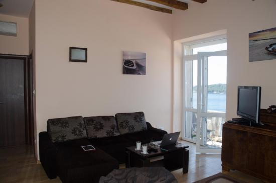 Villa Ragusa Dubrovnik: Living area