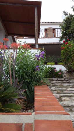 Riogordo, إسبانيا: Deel van de B&B met hier het zg. Koningspad.