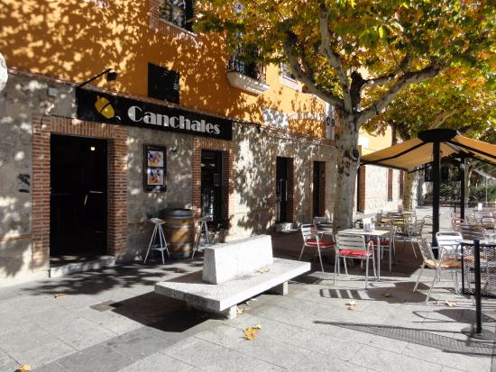 El Escorial, Spanyol: Terraza de Canchales