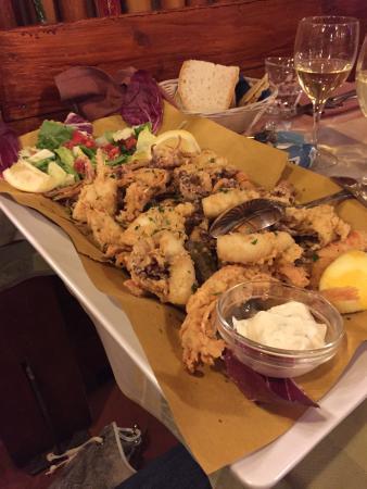 Gran fritto misto - Foto di L\'acquacheta Ristorante, Bagno a Ripoli ...