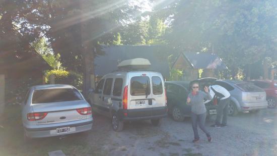 Cabanas Pinotea: parking spaces