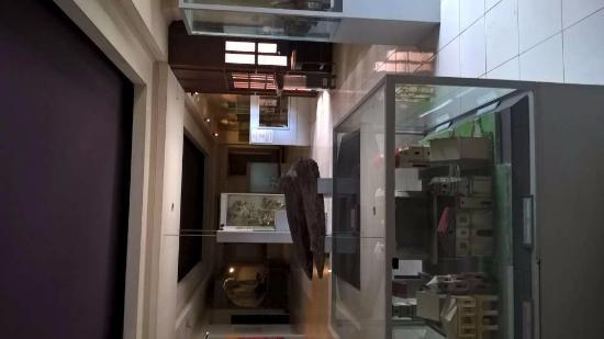Bohol National Museum: Vitrines