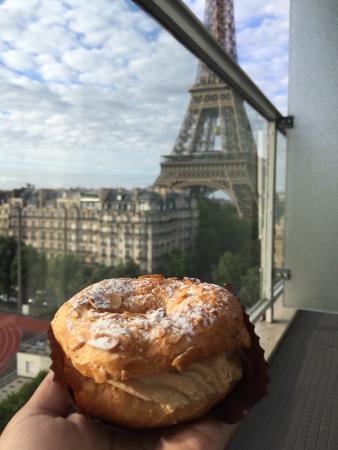 Pastries on our balcony :)