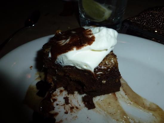 Carlstadt, NJ: chocolate peanut butter bread pudding - to die for