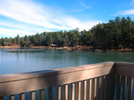 Lake of the Woods Resort: Deck view