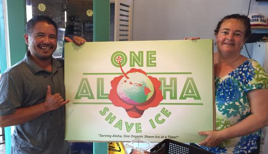 ‪One Aloha Shave Ice Co‬