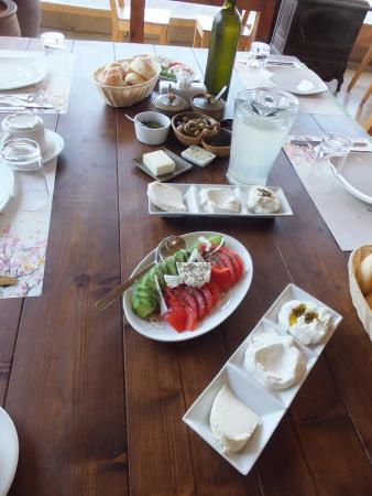 Sharona, Israel: Amazing fresh baked goods, cheeses, etc.