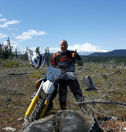 Hood river and Tillamook on a 300te Husqvarna - Picture of